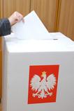 Polish Parliamentary election poster