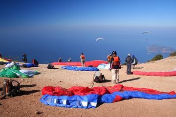 Paragliding station