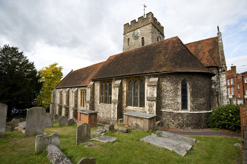 Small church in Guildford, Surrey, England