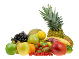 Fototapety lots of fresh fruit