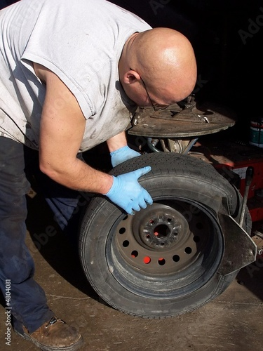Fixing the tire