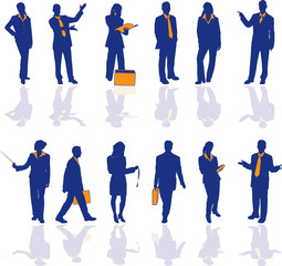 Business People detail 2