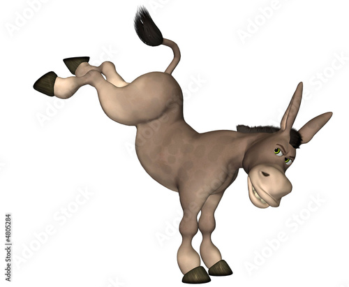 Donkey Cartoon . 9