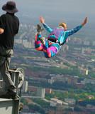 base-jumping poster