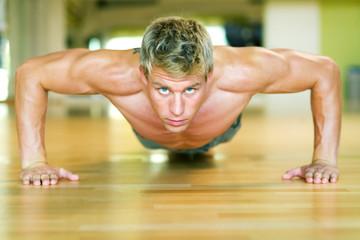 Workout – Liegestütze