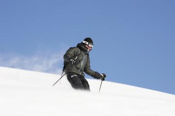 Le skieur