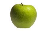 mela verde bagnata poster