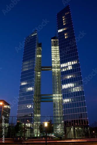 Highlight Towers, München, nachts - 4812407