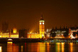 The Big Ben at night