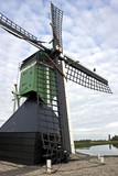 Mill at Zaanse Schans in Holland poster