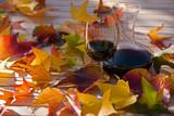 Fototapety wine & leafs
