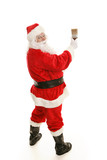 Santa with Paintbrush Complete poster