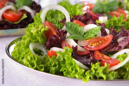 Plexiglas Salade Fresh salad