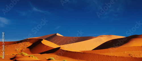 Canvas Woestijn Dunes of Namib Desert. Sossusvlei, Namibia.