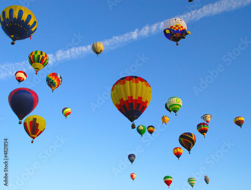 Foto op Aluminium Ballon Hot Air Ballons