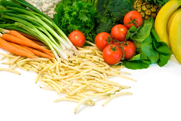 Vegetables and Some Fruits
