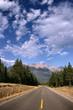 Canadian Rockies cloudscape