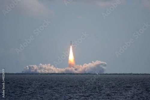 Leinwanddruck Bild Space Shuttle Launch