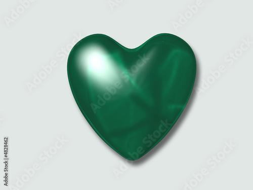 I love green sign with clipping path included in file