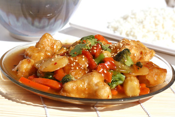 Chinese Food - Orange Chicken
