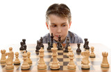 Chess game  evaluation poster