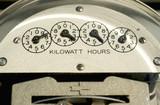 Electric Meter Close-Up poster
