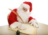Santa Making His List poster