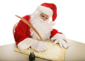 Santa Making His List