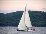 Sailing near the island Zlarin poster