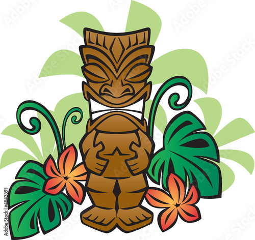 Exotic Tiki God