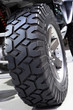 Large off-road tire