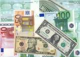 dollars and euro. xxxl size poster