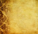 grunge floral background - Fine Art prints
