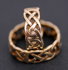 endtwined wedding rings