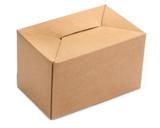 single cardboard box poster
