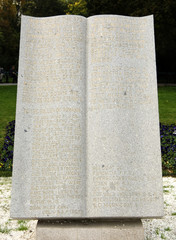 Memorial dedicated to the american soldiers, in Bucharest, Roman