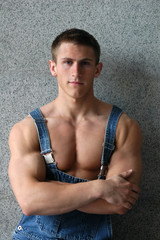 Sexy Muscular Worker
