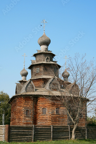 old russian temple