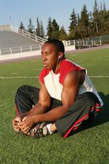 Football Player Workout