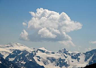 Caucasian mountains. Russia