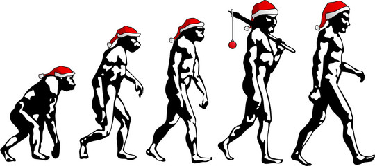 Evoluzione - Buon Natale