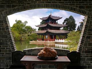 A scenery view of Lijiang
