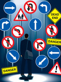 Life regulation signs poster