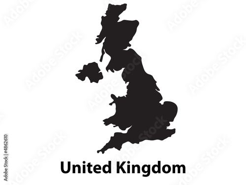 Vector of United Kingdom