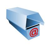 E-mail mailbox poster