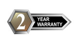 2 year warranty seal key poster