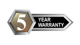 5 year warranty key poster
