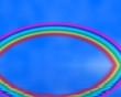 Reflected rainbow