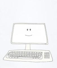 computer smiles