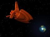 Alien Spaceship poster